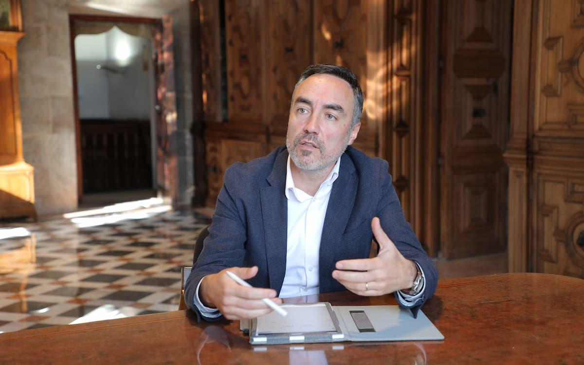 Juan Ángel Poyatos, director general de Coordinación de la Acción de Gobierno