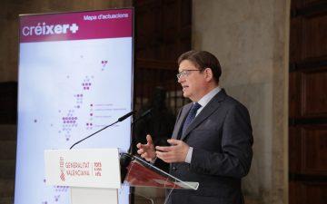 El 'president' de la Generalitat, Ximo Puig, presenta el Plan de Infraestructuras Sanitarias 2021-2023