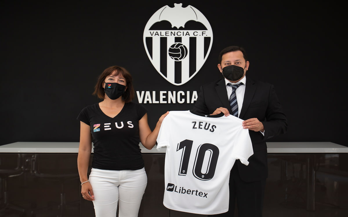Acuerdo entre Zeus y el Valencia CF
