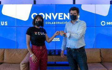 Zeus y Sesame colaborarán con Startup Valencia para impulsar la competitividad del ecosistema startup