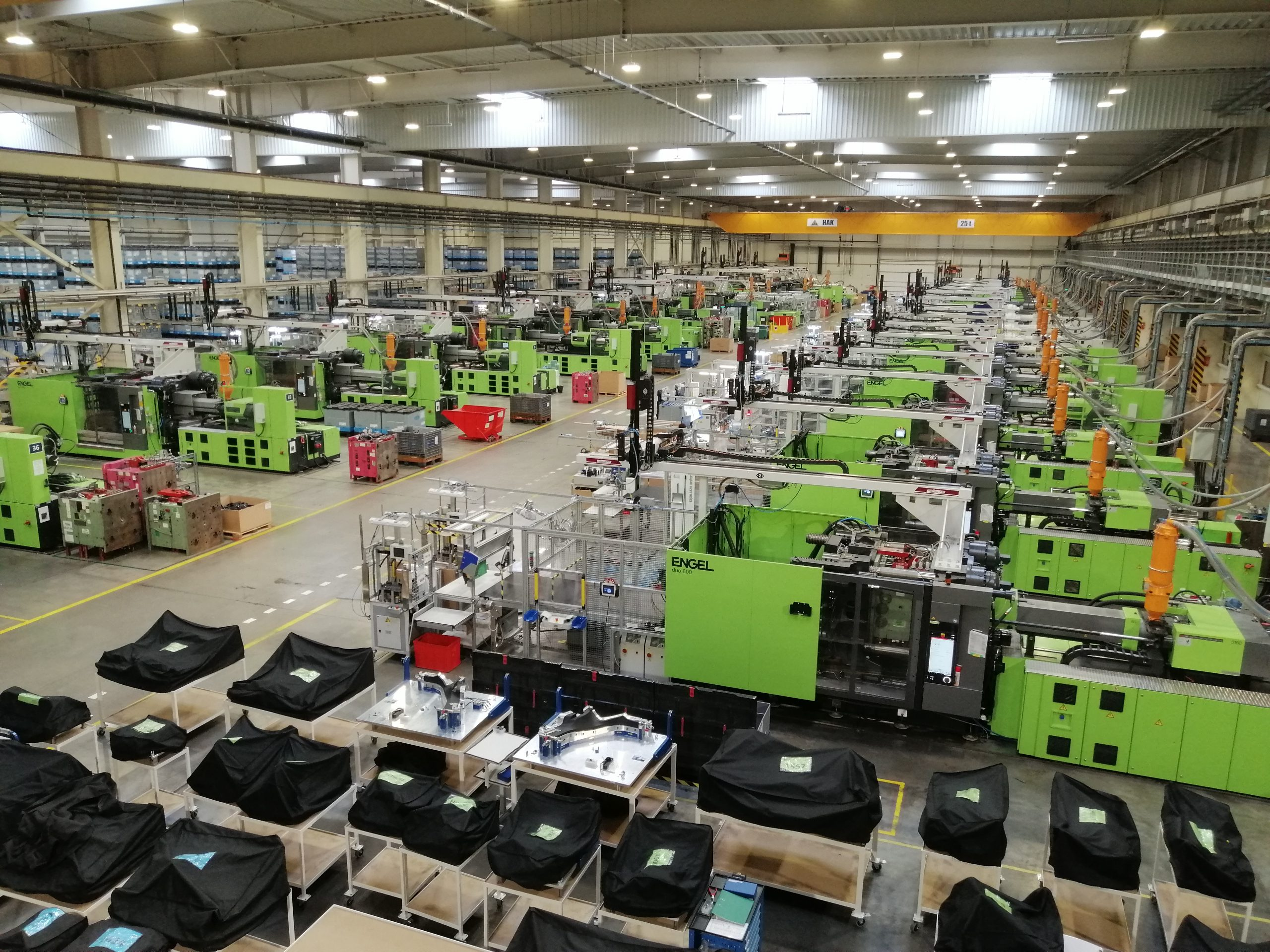 Interior fábrica Industrias Alegre