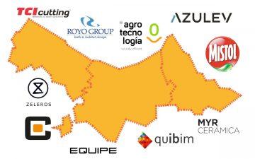Mapa de las compras de empresas más importantes en la Comunitat Valenciana