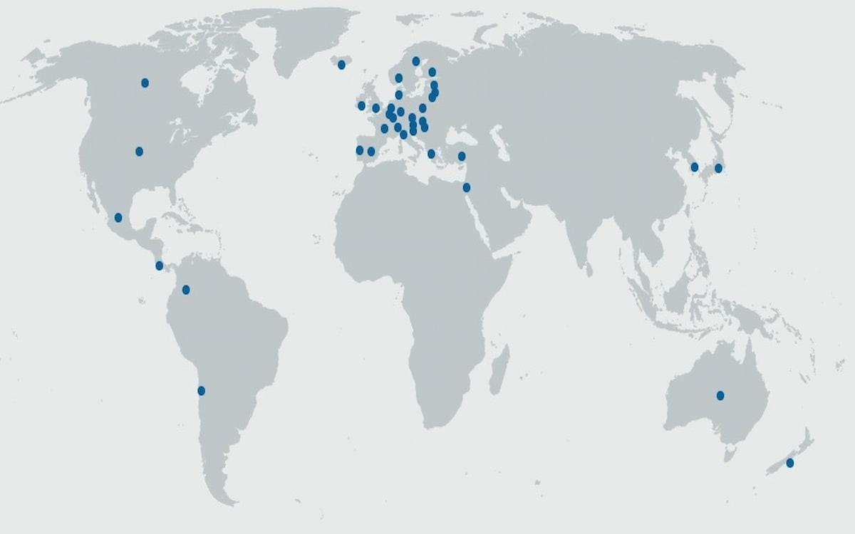 Países miembros de la OCDE