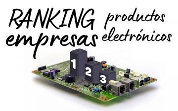 Ranking de productos de electrónica