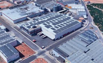 Simulación de la instalación fotovoltaica de autoconsumo de Grefusa
