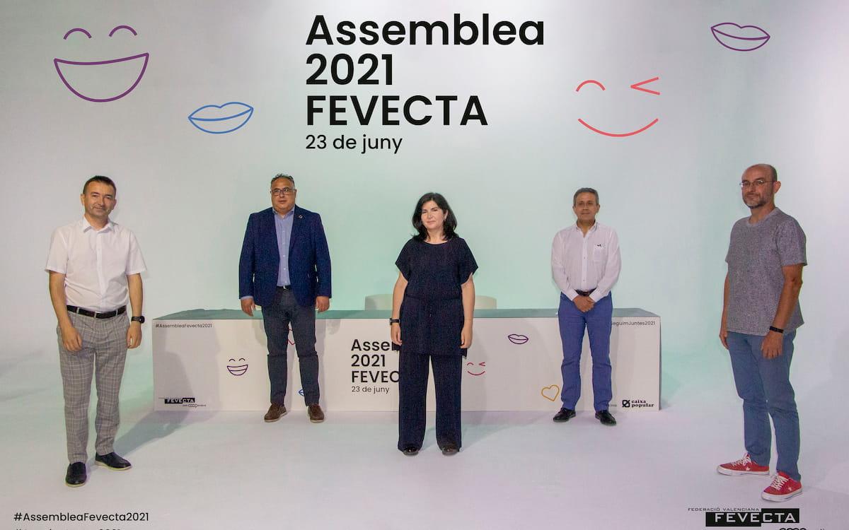 Emilio Sampedro es reelegido presidente de Fevecta en la Asamblea