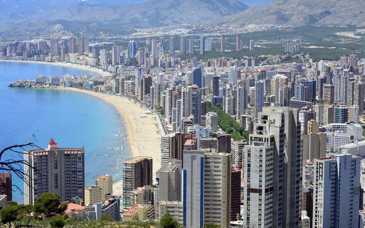 Benidorm. Vacaciones. Alicante. Turismo.