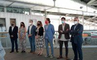 Adif presenta obras del canal de acceso a València