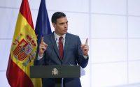 El presidente del Gobierno, Pedro Sánchez, presenta el PERTE sobre el coche eléctrico.
