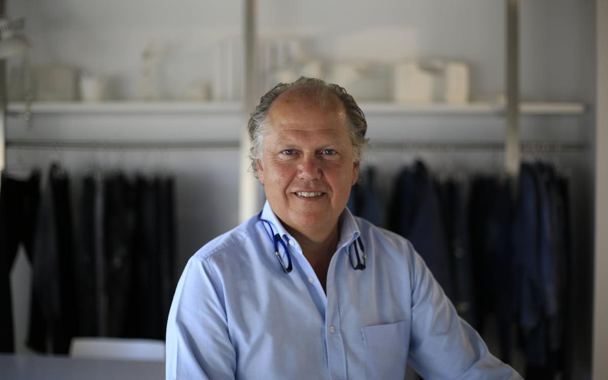 Enrique Silla, CEO de Jeanologia