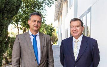 Francisco Querol, consejero delegado de Pavasal y Álvaro Marchesi, director general