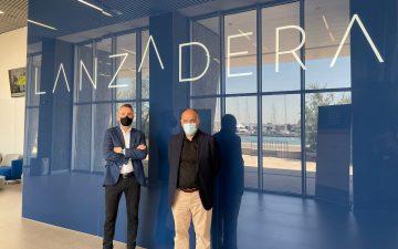 Javier Jiménez y Javer Tebas firman un acuerdo entre Lanzadera y Laliga