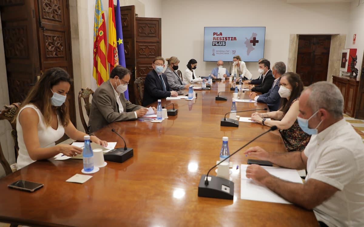 Ximo Puig anuncia una segunda fase del Plan Resistir Plus