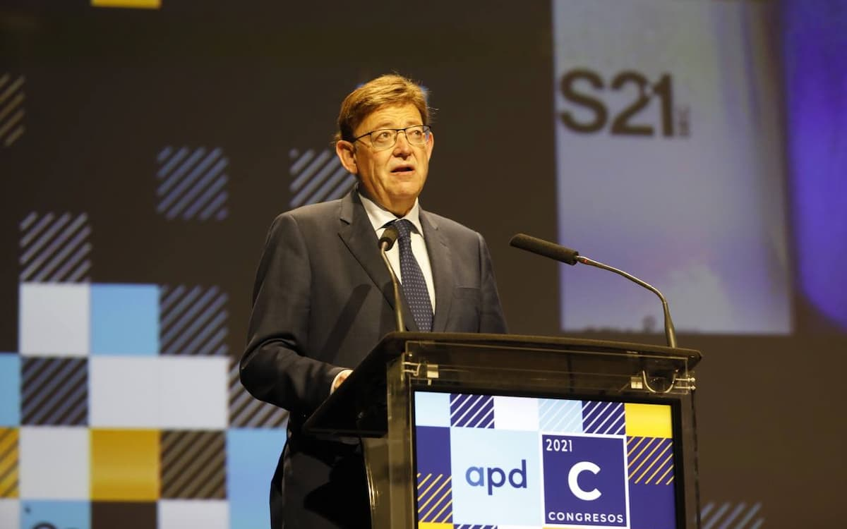 Ximo Puig, presidente Generalitat Valenciana