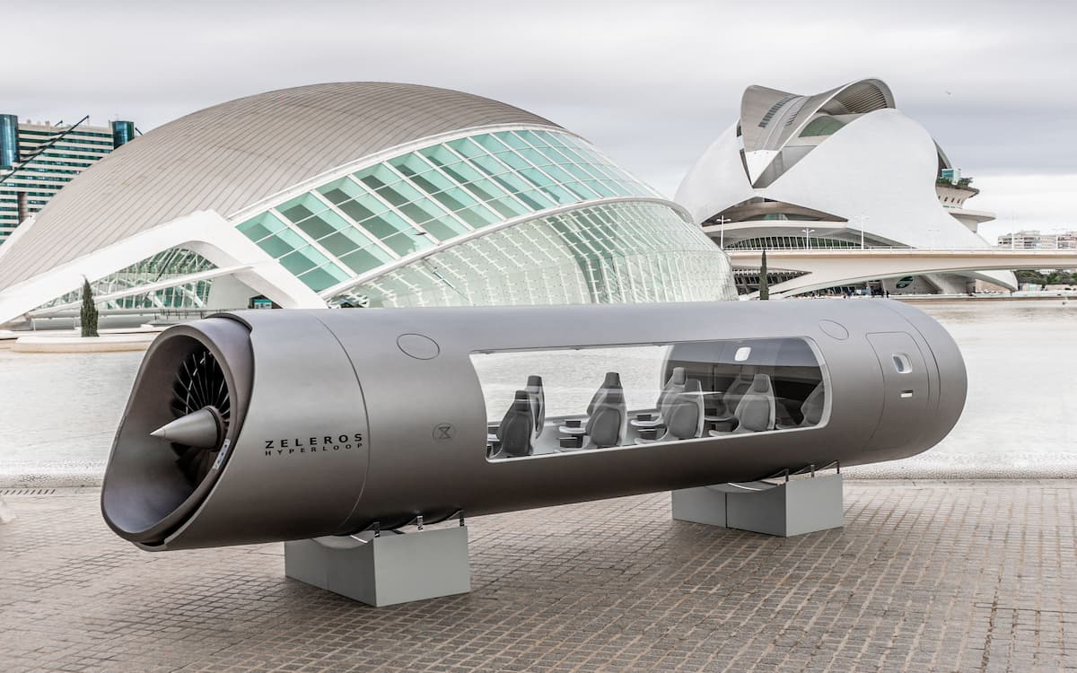 Zeleros impulsa el Hyperloop