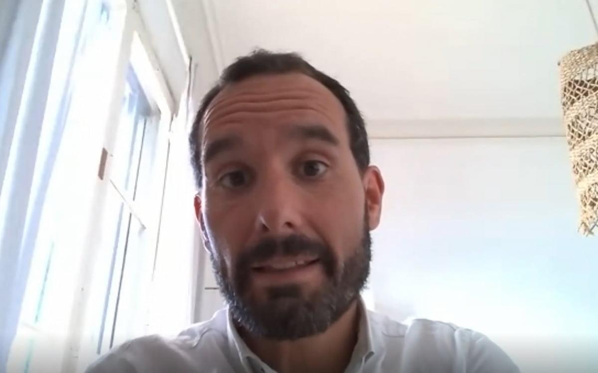 El experto de KM0 Energy, Ferrán Garrigosa, en un webinar sobre comunidades energéticas locales y autoabastecimiento.