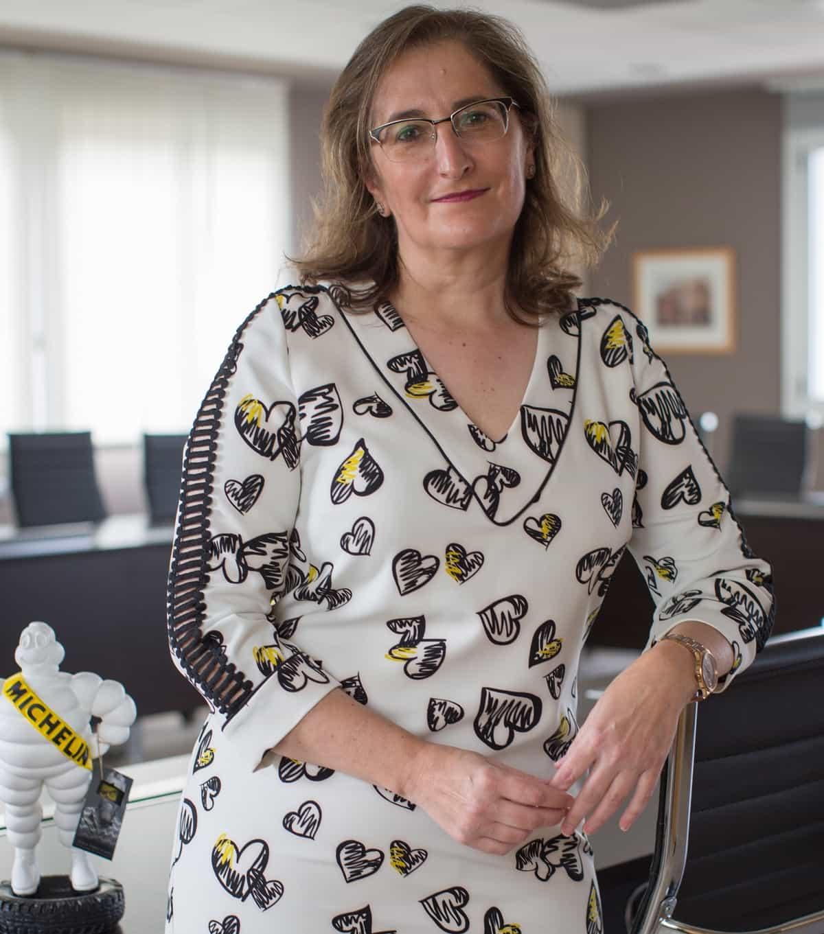 María Paz Robina, directora general Michelin