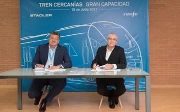 Renfe y Stadler firman la compra de 59 trenes para Cercanías por 1.000 millones