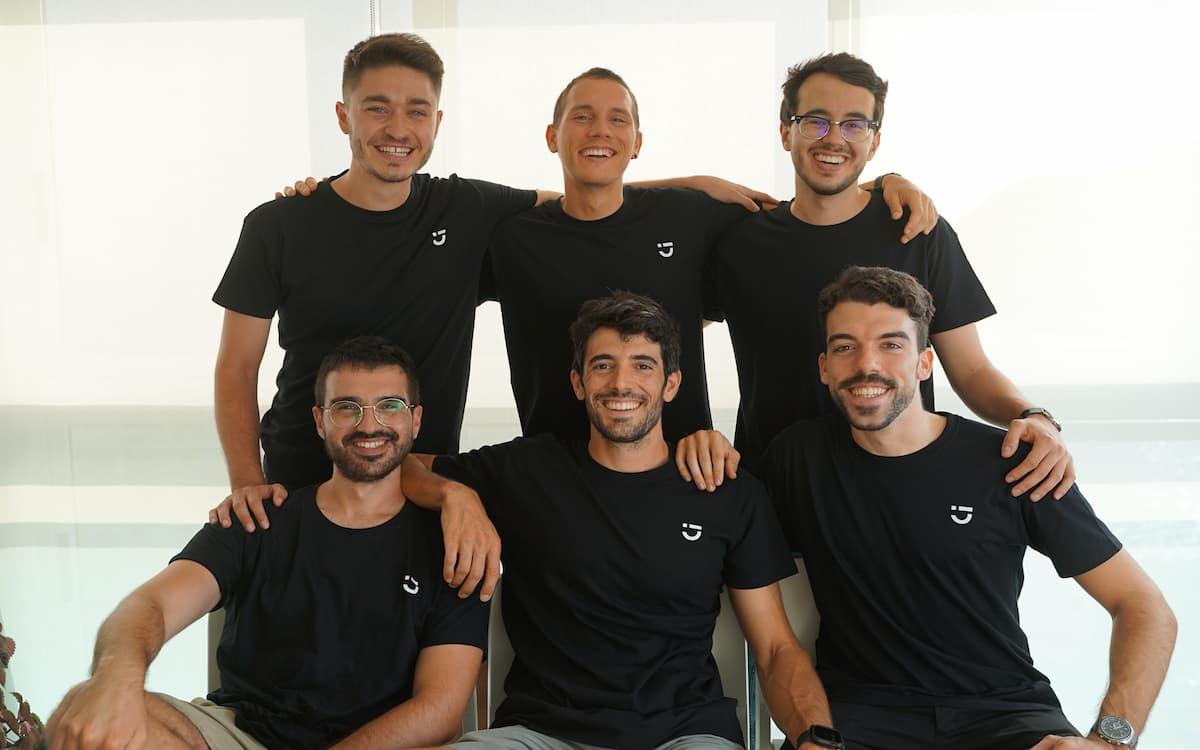 Equipo startup Deribe Valencia