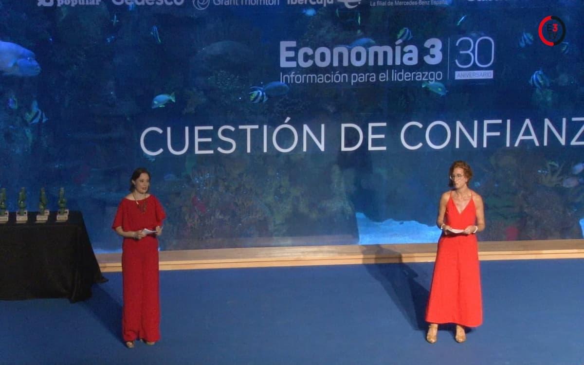 Entrega de premios y discursos de los Premios Economía 3