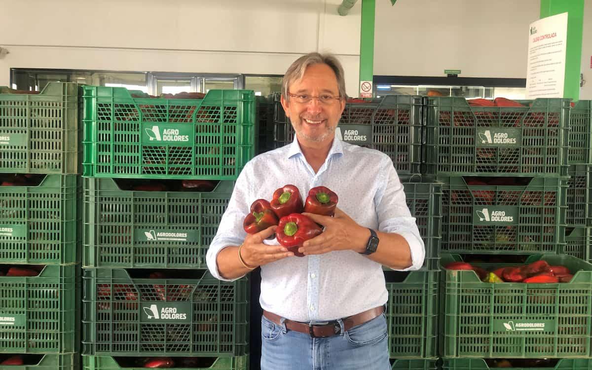 Simón Conesa, CEO de Agrodolores