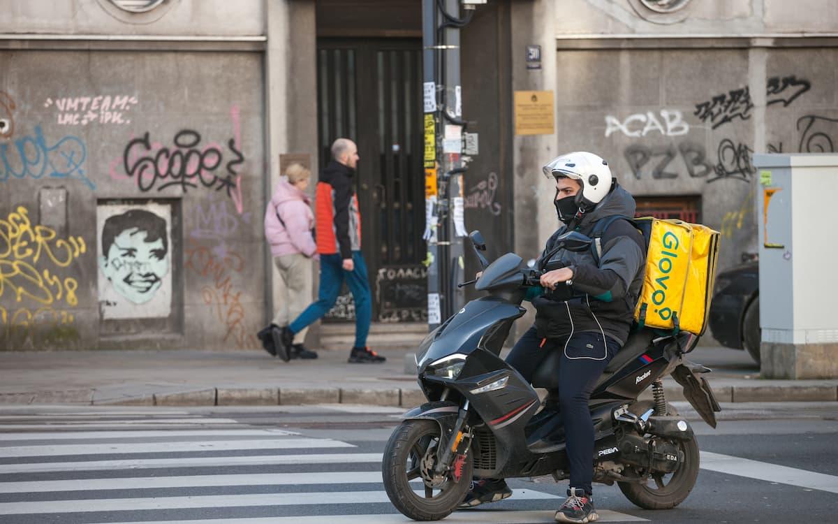 Repartidor. Delivery. Ley Rider.