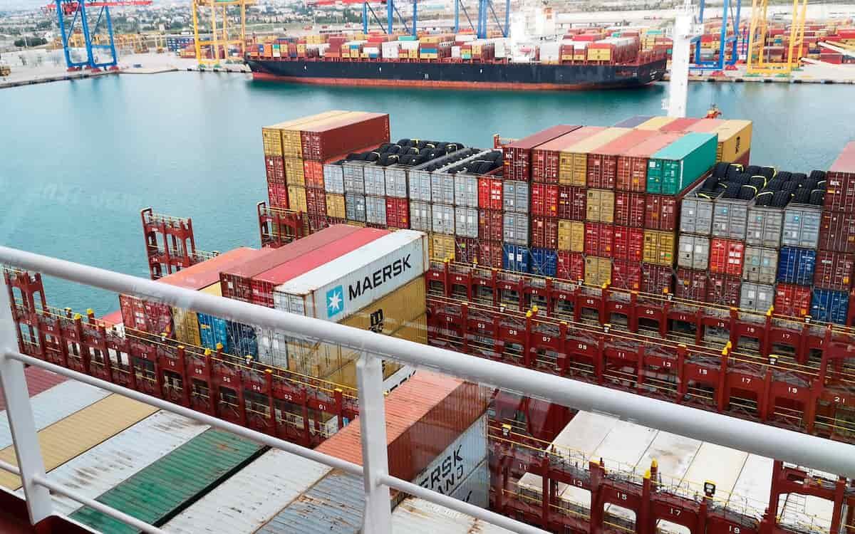 Tráfico contenedores de Valenciaport