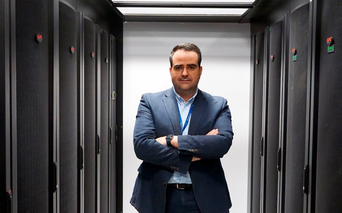 Raúl Aledo CEO de Aire Networks, que se instala en Distrito Digital.