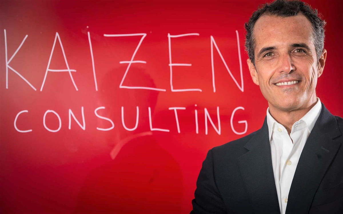 El fundador y socio director de Kaizen Consulting, José Roca.