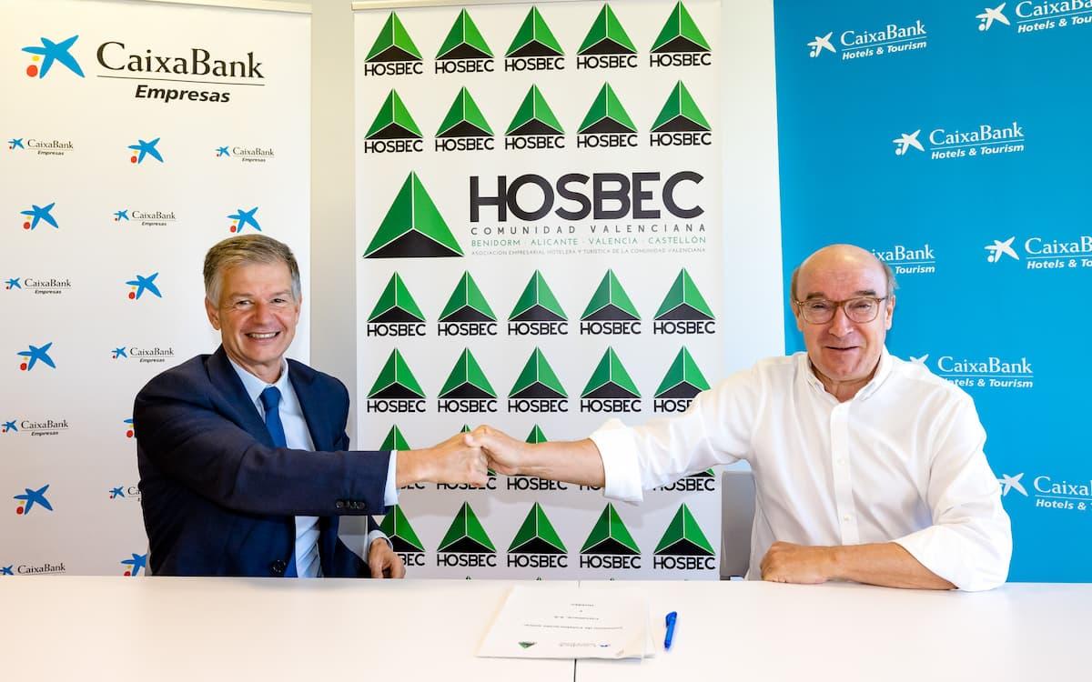Acuerdo de Caixabank y Hosbec