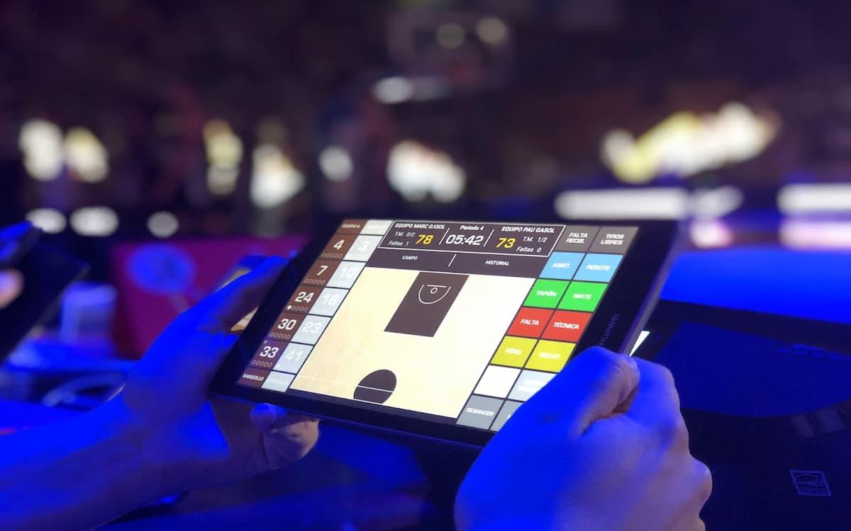 Swish app digitalizar baloncesto