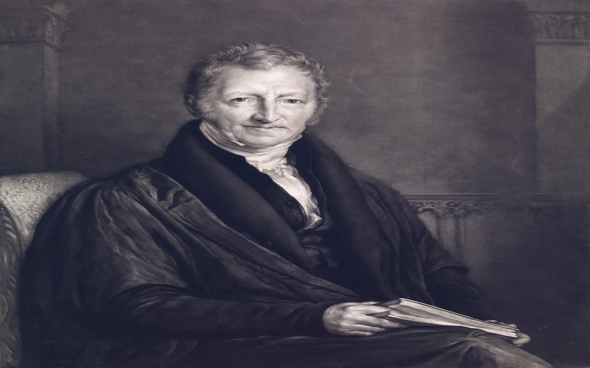 influencia de thomas malthus