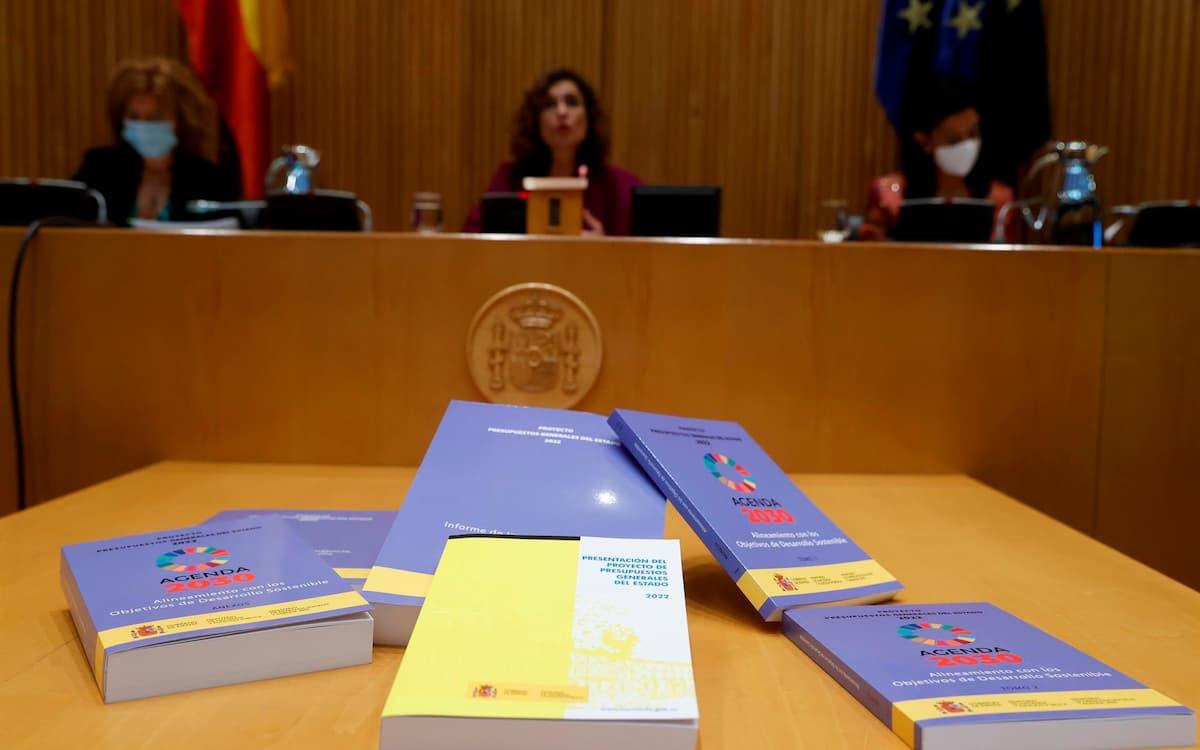 Presupuestos 2022 (EFE/Juan Carlos Hidalgo)